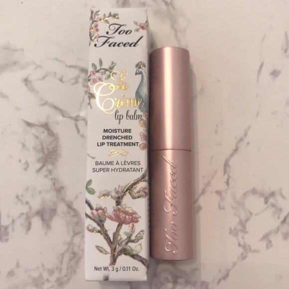 Sephora Other - 3 for $48 Too Faced La Creme Lip Balm